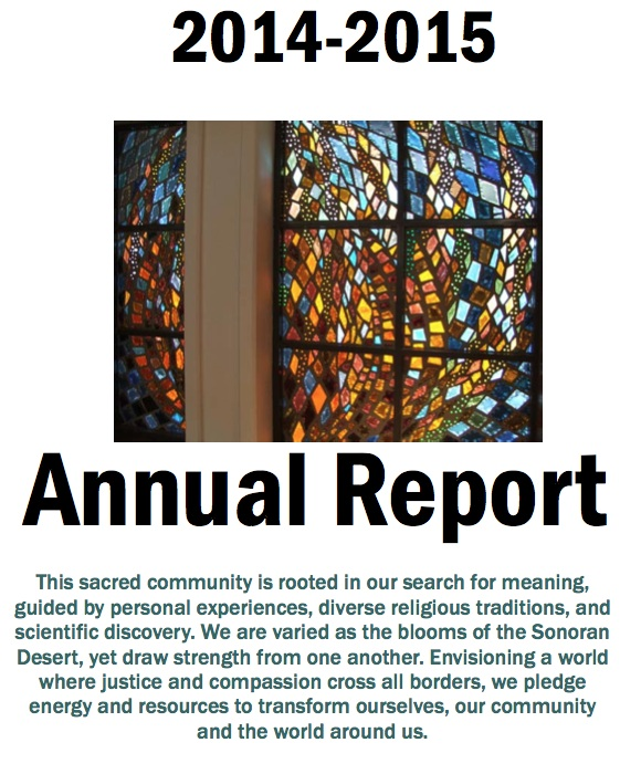 Cover of 2015 Annual Report