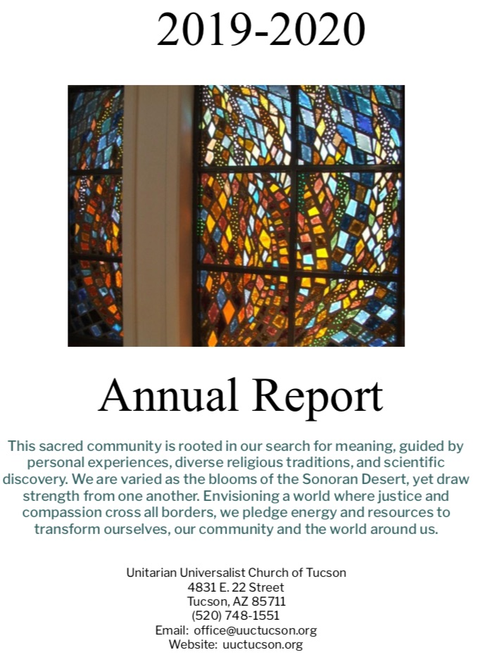 Annuarl Report Cover